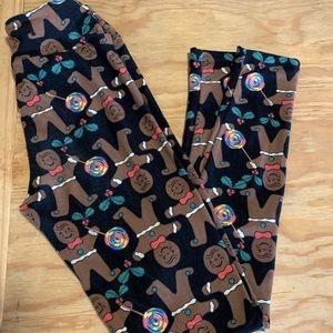 Lularoe holiday leggings...